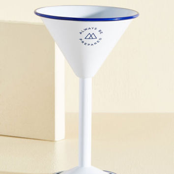 Drink In the Outdoors Martini Glass | Mod Retro Vintage Kitchen | ModCloth.com