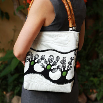 EMBROIDERY bag, handmade bag, elegant bag, casual bag