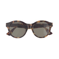 J.Crew Womens Super Mona Cheetah Sunglasses