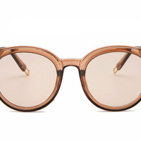 Retro Clear Sunglasses - Available in different colors