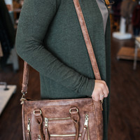 Long Haul Purse - Brown