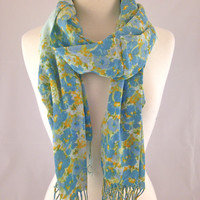 Hydrangeas In Bloom Scarf