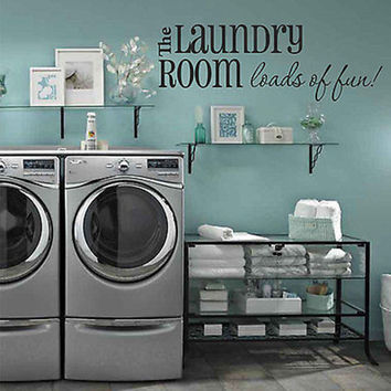 Loads of Fun-Laundry Room Wall Decal | Decor Designs Decals