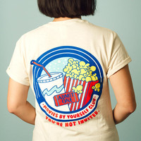 Movies by Yourself Club T Shirt