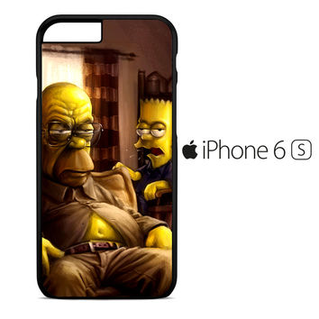The Simpsons Homer Marge Bart Breaking Bad iPhone 6S Case