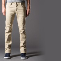 [True Grit] Slim Jeans in Back in Khaki