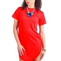 2017 Summer Women Dress Tshirts Short Sleeve Loose Casual Vestido Corto O-neck Women's Mini Dress Vestido De Renda Plus Size 2xl