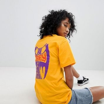 Obey Relaxed T-Shirt With Cross Back Graphic at asos.com