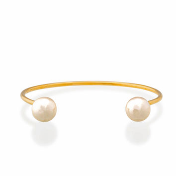 Lost Dream Pearl Cuff (Gold)