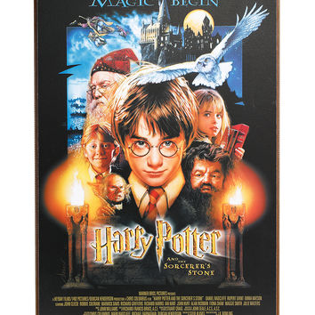 Harry Potter And The Sorcerer's Stone Wood Wall Art