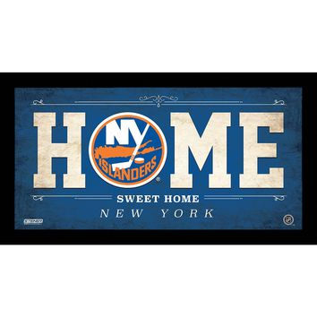 New York Islanders 10x20 Home Sweet Home Sign
