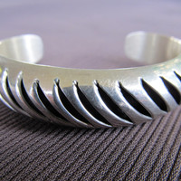 Mexican Sterling Cuff Bracelet