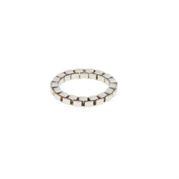 Jack White Sterling Silver Chain Ring