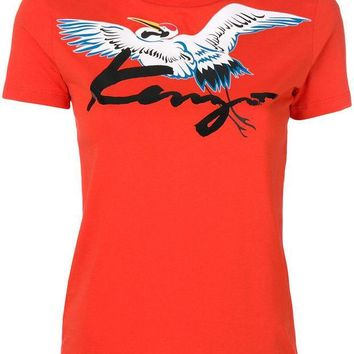 CREYONJF Kenzo Bird Patch T-shirt - Farfetch