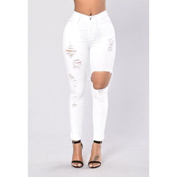 RIPPED LOVE JEANS