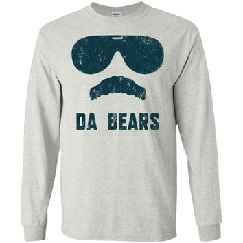 Da Bears Ditka Funny Chicago T-Shirt  G240 Gildan LS Ultra Cotton T-Shirt