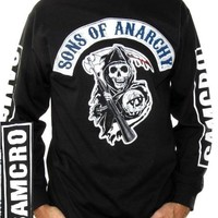 Sons Of Anarchy Long Sleeve T-Shirt - SAMCRO Sleeve