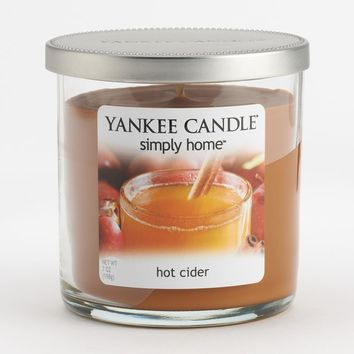 Yankee Candle simply home 7-oz. Hot Cider Jar Candle