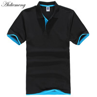 Cotton Casual Solid Polo Shirt
