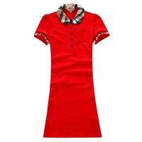BURBERRY Classic Vintage Fashion Dress