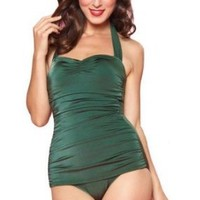 Esther Williams Women's 50's Pin Up Swimsuit