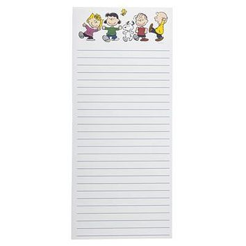 Peanuts Gang Magnetic Notepad