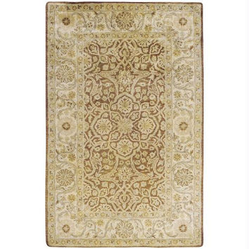 Area Rug - Yellow, Honey, Carnelian, Pale Peach, Celadon Tint And Vanilla