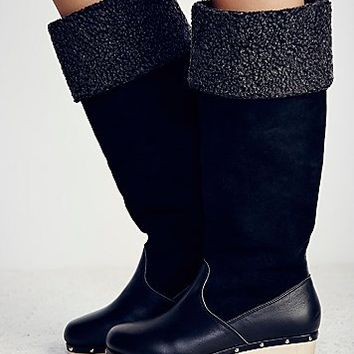 Intentionally blank Womens Canopy Tall Clog Boot