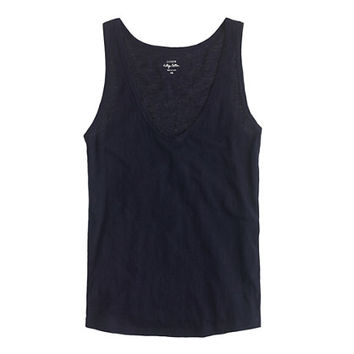 J.Crew Womens Petite Vintage Cotton Tank Top