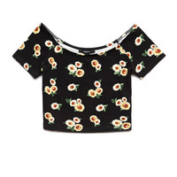 Sunflower Daze Crop Top