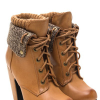 The Sahara Booties
