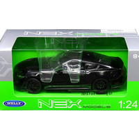 2015 Ford Mustang GT Black 1-24 Diecast Model Car by Welly