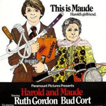 Harold And Maude Movie Poster 11x17 Mini Poster