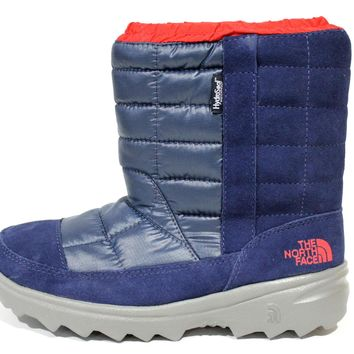 The North Face Boy's Winter Camp WP Midline Blue Winter Boots CL30U0Y