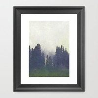 *A Moment Suspended in Time* #society6 Framed Art Print by 83oranges.com