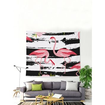 Flamingo Wall Tapestry