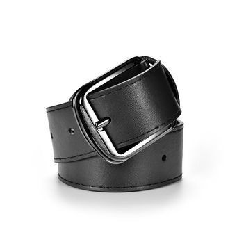 Men's Casual PU Leather Belts