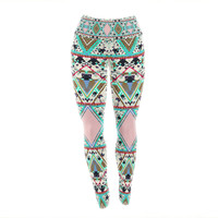 "Vasare Nar ""Deco Hippie"" Yoga Leggings"