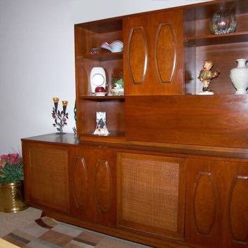 Beautiful Mid-Century Wall Unit with Dry Bar