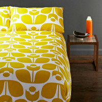 Honey Flower Duvet Cover Set
