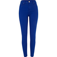 River Island Womens Bright blue Lana superskinny jeans