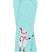 Frozen Snowman Leg Warmers for baby, toddlers and children