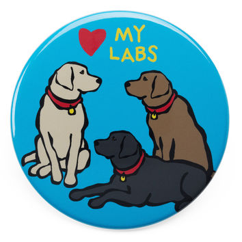 Love my Labs Magnet
