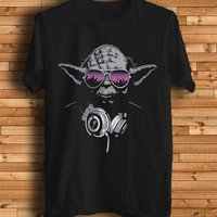 New DJ Yoda Starwars Trance Logo Men T Shirt Tee