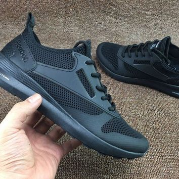AUGUAU Reebok Zoku Runner Ultk Htrd Breathable Running Shoes Black