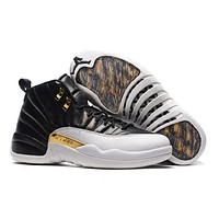"Air Jordan Retro 12 Retro ""Playoff"" AJ12 Men Basketball Shoes"