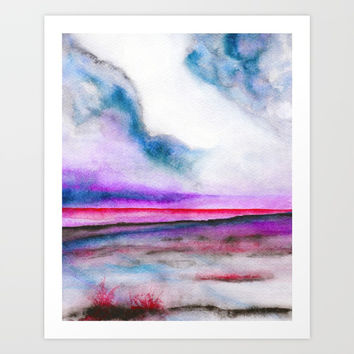 Abstract nature 10 Art Print by Marco Gonzalez
