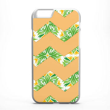 Chevron iPhone Case - FREE Shipping to USA tropical iphone case dye sublimation orange and green colorful chevron print slim iphone 6 cover