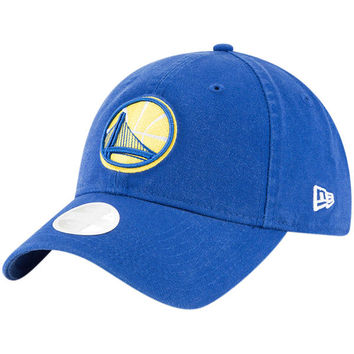 Women's Golden State Warriors New Era Royal Core Classic 9TWENTY Adjustable Hat