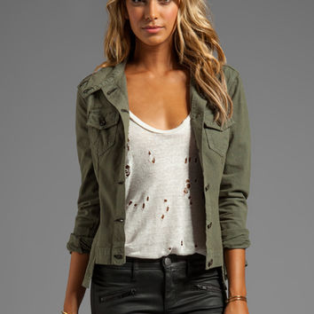 rag & bone/JEAN Chamberlain Jacket in Army Canvas from REVOLVEclothing.com